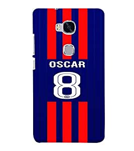PRINTVISA Football Oscar Case Cover for HUAWEI HONOR 5X