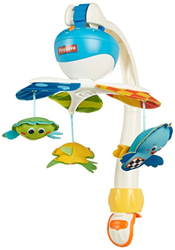 Tiny Love Take Along Mobile, Animal Friends, Blue (Baby Boys Mobile compare prices)