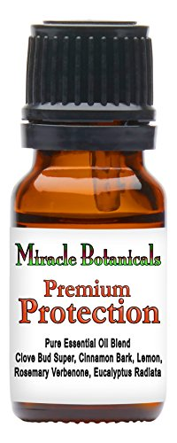 "Miracle Botanicals Premium Protection Essential Oil Blend - Formerly known as ""Premium Thieves"" - 100% Pure Therapeutic Grade Essential Oils 10ml"