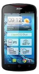 Acer Liquid E2 Duo Smartphone débloqué 4,5 pouces 4 Go Double SIM Android Jelly Bean Noir