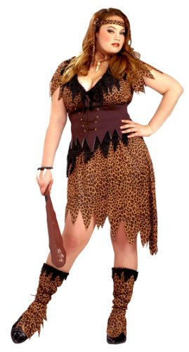 Plus Size Cave Woman Costume