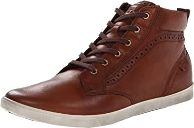 ECCO Men's Collin Boot,Teak,47 EU/13-13.5 M US