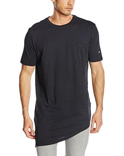 Criminal Damage Camiseta Manga Corta Negro