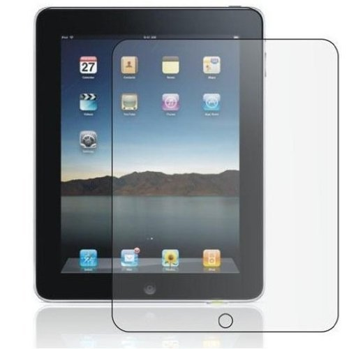3x Screen Protector Cover with Cloth for Apple iPad 2