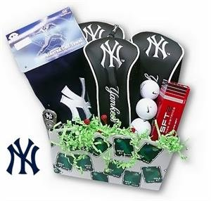NY Yankees Golf Gift Basket
