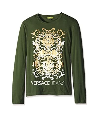 Versace Jeans Men's Logo Graphic Shirt