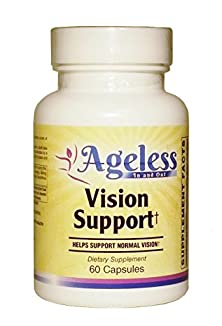 buy Vision Support - 60 Veggie Capsules - Powerfully Effective Eye Health Formula. Everyday Vision Eye Care Strength & Support Pills To Improve Your Eyesight.
