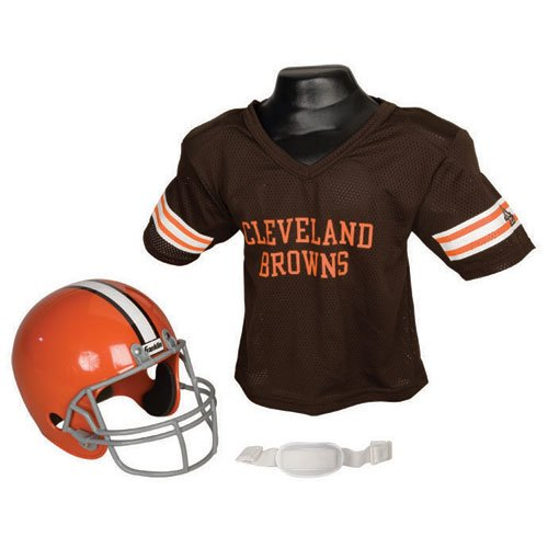 BSS - Cleveland Browns Youth NFL Helmet and Jersey Set at Amazon.com