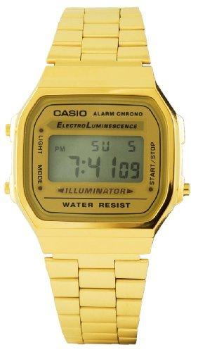 Classic Gold Illuminator Uhr A168Wg 9Ef Von Casio