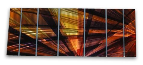 138x48 Contemporary Metal Wall Decor - Unique Artwork - Modern Painting , modern home decor, metal wall sculpture, contemporary wall art