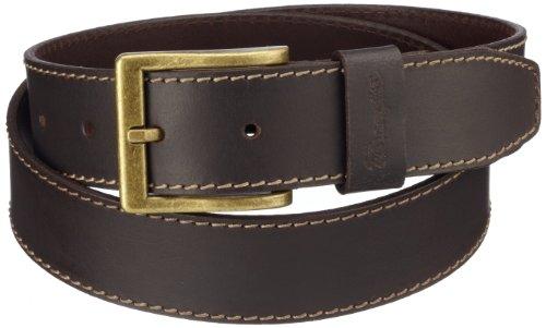 Wrangler - Cintura, uomo, Marrone (Braun (Mid Brown )), 100 cm
