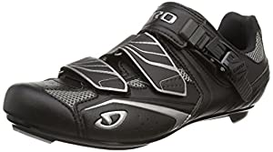 Giro 2013 Mens Treble Road Bike Shoes, Black/Silver