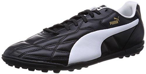 Puma - Classico Tt, Scarpe Da Calcio da uomo, Black/White/Puma Gold, 43