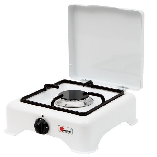 Parker 91751 Camping Kocher 1-flammig mit Zündsicherung für Ausland, 50 millibar