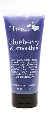 I love シャワースムージー Blueberry-0 - Smoothie 200 ml
