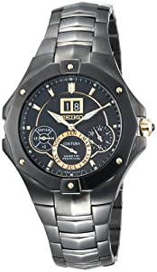 Seiko Men&#39;s SNP017 Coutura Kinetic Perpetual Watch