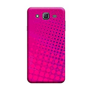 Digi Fashion Designer Back Cover with direct 3D sublimation printing for Samsung Galaxy J7