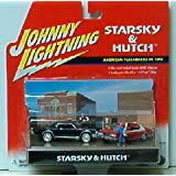 Starsky and Hutch Diecast Set Cars & Figures by Johnny Lightning 1:64