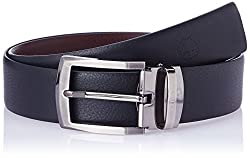 Covo Black and Brown Leather Men's Formal Belt (AXB12-32)
