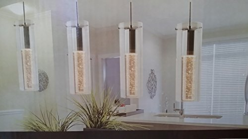 Ampere Champagne Glow Indoor Pendant Light Fixture