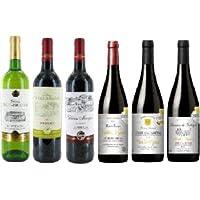 金賞受賞 フランスワイン 6本セット (赤5本・白1本) 【 第3弾!】 金賞受賞ワインセレクション!