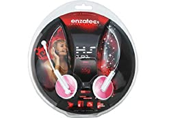 Enzatec Headphones Pink HS101PR