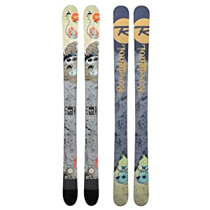 Rossignol S7 Pro Freeride Skis Youth Sz 140