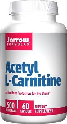 Jarrow Acetyl L Carnitine, 60Capsules, 500mg