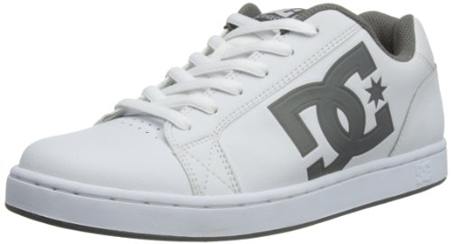DC Shoes Mens Serial M Shoe Low-Top 320274 WGY/White 6 UK, 36 EU, 7 US