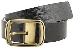 Jackblack Men's Leather Belt (SEVP020, Black, 36)