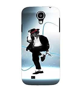 PrintVisa Dance Michael Jackson 3D Hard Polycarbonate Designer Back Case Cover for Samsung Galaxy S4 Mini