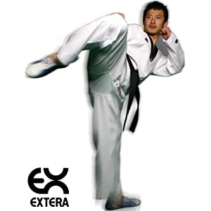 Mooto Basic Black V Taekwondo Dobok Uniform