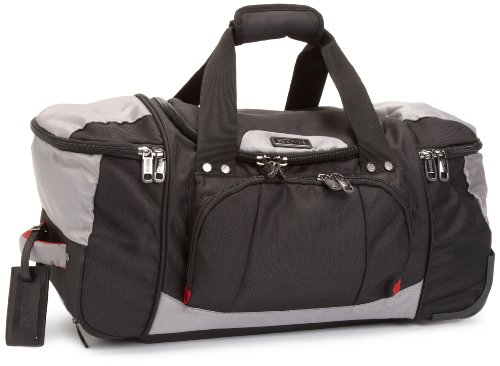 Kenneth Cole Reaction Luggage Take A Bow 22 Inch Wheeled Duffel Bag, Black, Medium best price