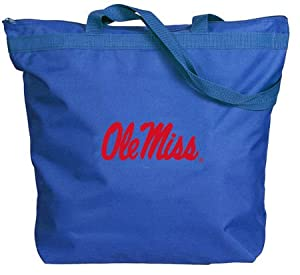 Buy Mississippi Rebels - Ole Miss - NCAA Zippered Tote by NCAA