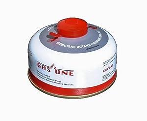 GasOne Premium Butane-Propane Mix Fuel, White, 4-Ounce