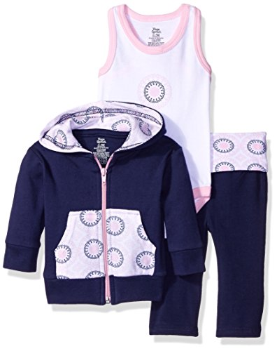 yoga-sprout-baby-racerback-bodysuit-pant-and-hoodie-set-navy-baby-pink-ornamental-6-9-months