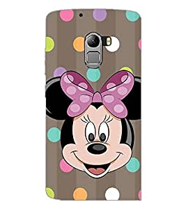 PrintDhaba Minnie Mouse D-1445 Back Case Cover for LENOVO VIBE K4 NOTE (Multi-Coloured)