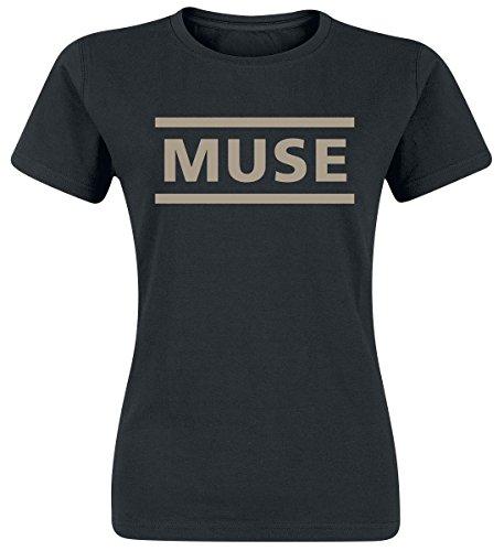 Muse Logo Maglia donna nero XL