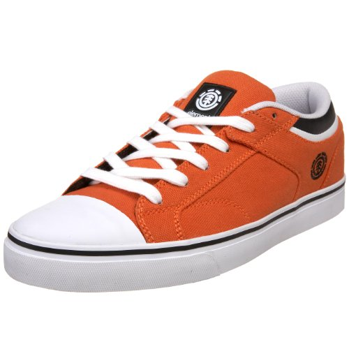 Element Men's Carnegie Skate Shoe,Orange,5.5 M US