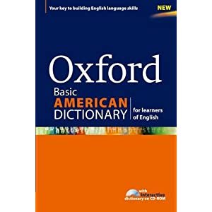 Oxford Basic American Dictionary for learners of English 1st Edition 2011 (CD-ROM)
