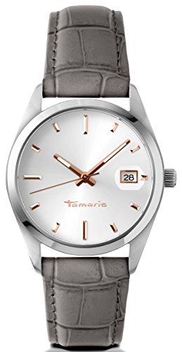 Tamaris - B03016000 - Montre Femme - Quartz - Analogique - Bracelet cuir gris