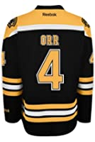 Boston Bruins VINTAGE Bobby ORR #4 *A* Official Home Reebok NHL Hockey Jersey (SEWN TACKLE TWILL NAME / NUMBERS)