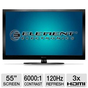 "Element Elgfw551 55""1080P 120Hz Lcd Hdtv"