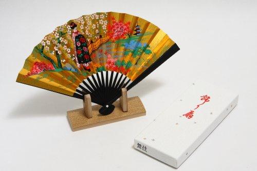 Japanese Fan Stand : New decoration kazari sensu japanese traditional fan with
