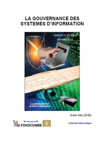 Couverture du livre La gouvernance des systèmes d'information