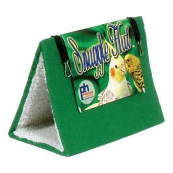 Bird Supplies Snuggle Hut Cloth Bird Bed - Large 10""