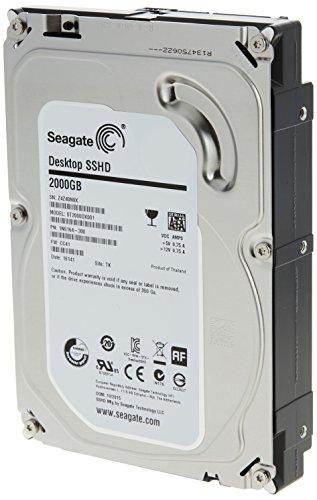Seagate DesktopSSHD 2TB 3.5inch SATA3.0 MLC/8GB 64MB ST2000DX001