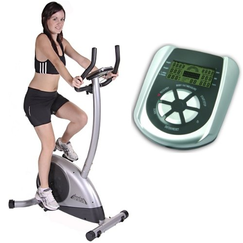 FRONTIER NIMBUS PREMIUM 24 PROGRAM Magnetic Exercise Bike, German Quality, 3YR WARRANTY