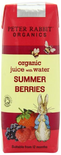 Peter Rabbit Organics from 12 Months Organic Summer Berries Juice 250 ml (Pack of 12)