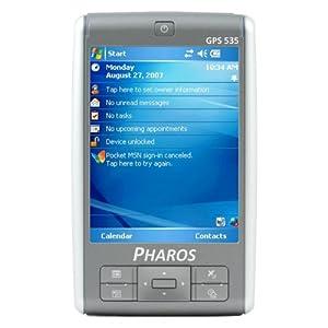 Pharos 535e Traveler 3.5-Inch Portable GPS Navigator